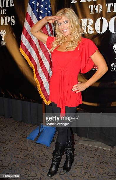 Torrie Wilson during Press Conference to Announce the Return of WWE to Iraq to Entertain the Troops for the Holidays November 21 2006 at Madison...