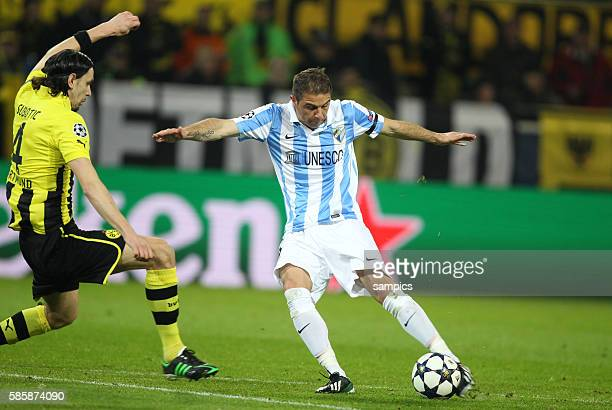 1 Neven Subotic Borussia Dortmund Viertelfinale Borussia Dortmund FC Malaga UEFA Fussball Championsleague 2012 / 2013