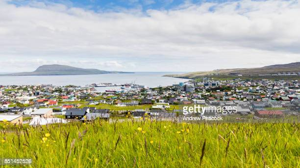 torshavn is the capital and largest town of the faroe islands. - torshavn stock pictures, royalty-free photos & images