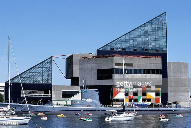 Torsk and National Aquarium at the Inner Harbor,  Baltimore, Maryland, USA