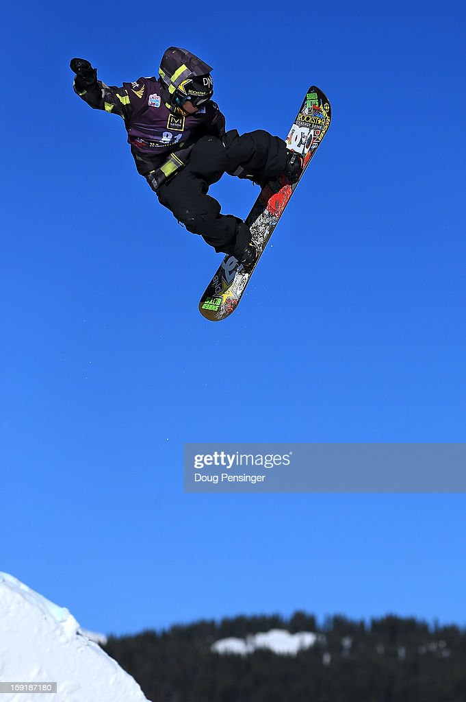 Torstein Horgmo of Norway competes during qualification for the men's FIS Snowboard Slope Style World Cup at the Sprint US Snowboarding Grand Prix on January 9, 2013 in Copper Mountain, Colorado.