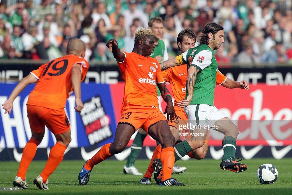 SV Werder Bremen v FSV Mainz 05 - Bundesliga : News Photo