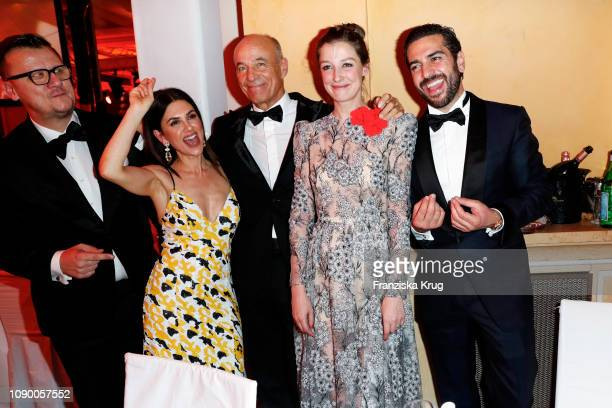 Torsten KochViktoria Lauterbach Heiner Lauterbach Alexandra Maria Lara and Elyas M'Barek during the 46th German Film Ball at Hotel Bayerischer Hof on...