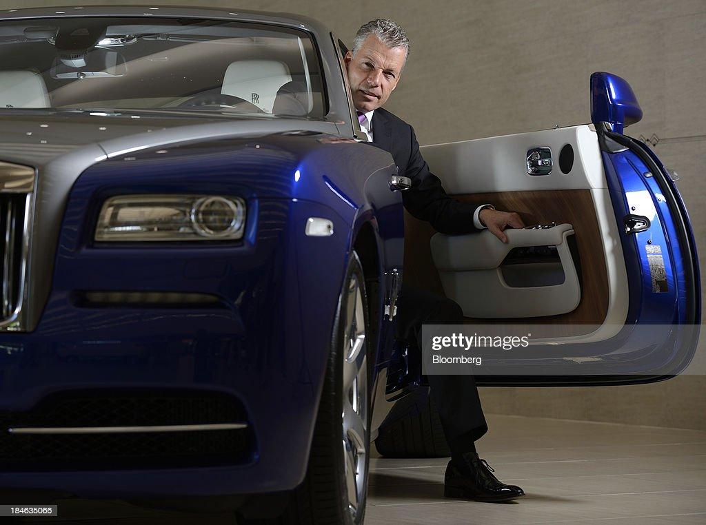 Rolls-Royce Chief Executive Officer Torsten Mueller-Oetvoes Interview