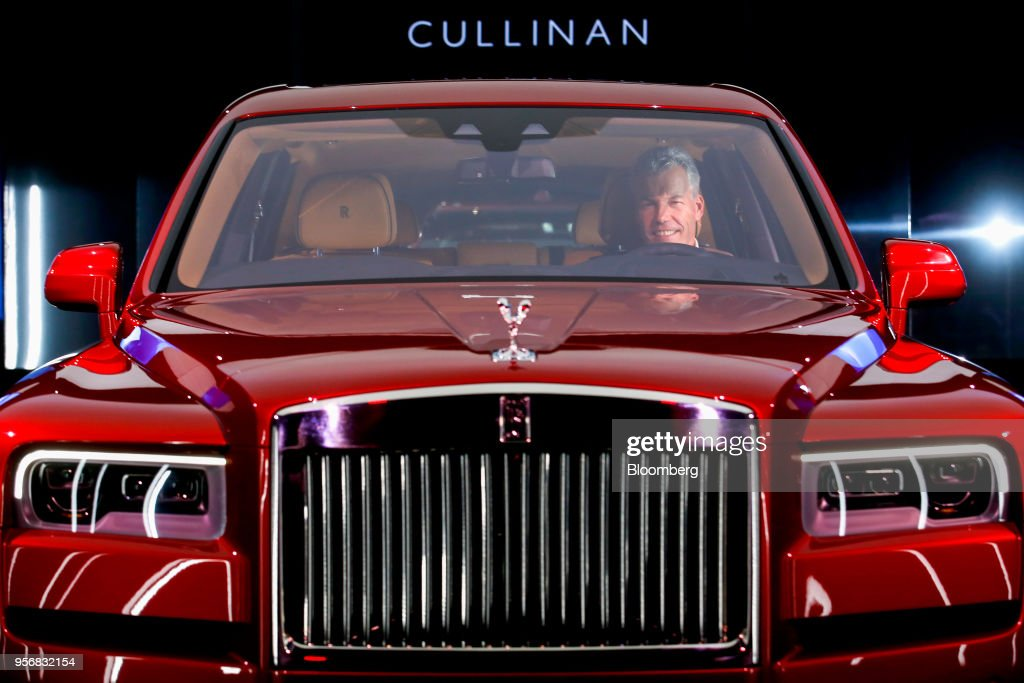 GBR: Rolls-Royce Debuts Its First SUV, The Cullinan