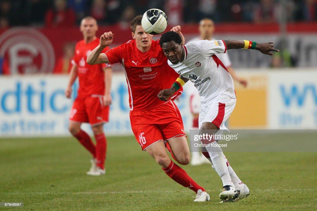 Fortuna Duesseldorf v 1. FC Kaiserslautern - 2. Bundesliga