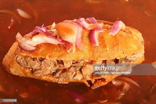 Torta ahogada, mexican cuisine