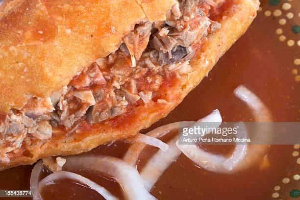 Torta Ahogada, mexican dish