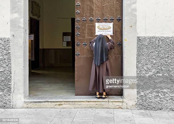 tortas de la virgen - convent stock photos and pictures