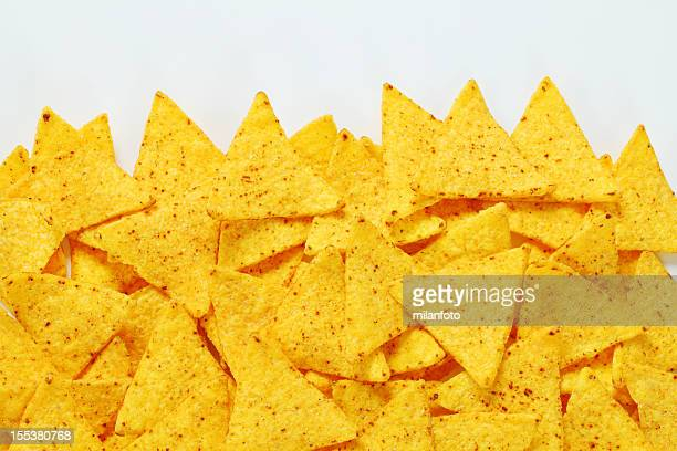 tortilla chips - nachos stock photos and pictures