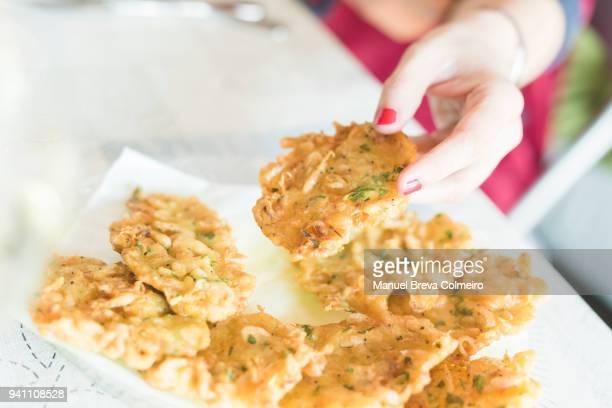 Tortillas de camaron