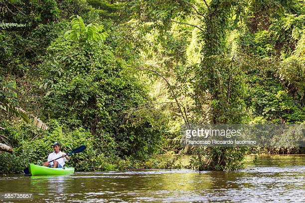 Tortuguero National Park kayaking