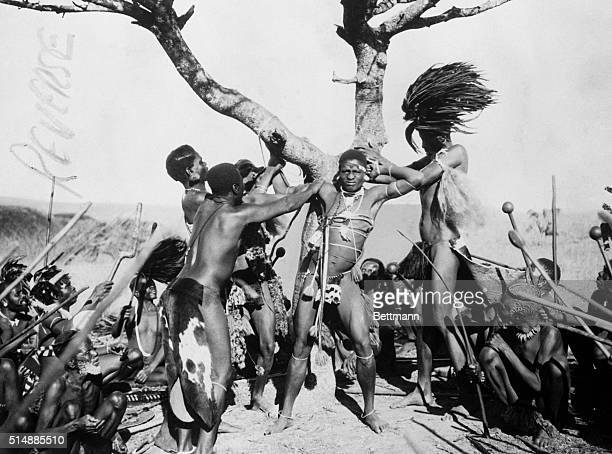 "Torture of persons suspected of causing evil in common. Natives believe that ill happens only when an ""Evil Spirit"" entered a tribe member's body. To..."