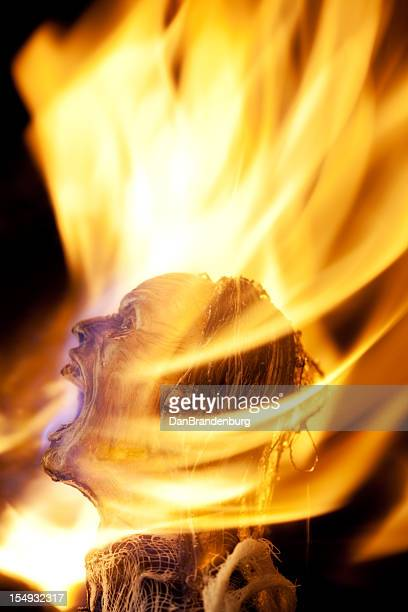 tortured soul - burn injury stock photos and pictures