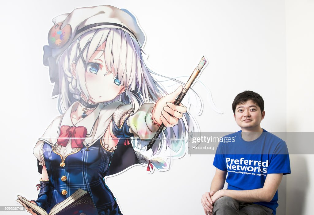 Toru Nishikawa, co-founder and chief executive officer of Preferred Networks Inc., poses for a photograph in Tokyo, Japan, on Friday, March 16, 2018. Preferred Networks has only one publicly available product, a whimsical application that uses artificial intelligence to automate the coloring of manga cartoons. Yet the four-year-old firm has become Japan's most valuable startup, with a venture capital funding that priced it at more than $2 billion, according to people familiar with the matter. Photographer: Tomohiro Ohsumi/Bloomberg via Getty Images