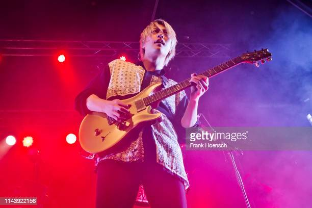 Toru of the Japanese band One Ok Rock performs live on stage during a concert at the Huxleys on May 14 2019 in Berlin Germany