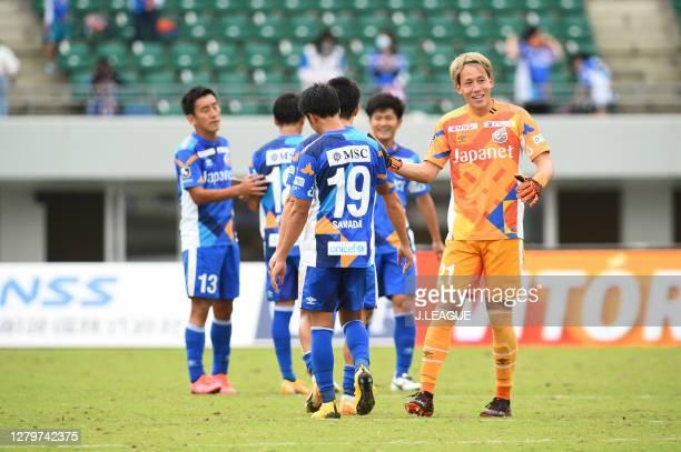 Toru TAKAGIWA of V-Varen Nagasaki looks on after the J.League Meiji Yasuda J2 match between V-Varen Nagasaki and Renofa Yamaguchi at Transcosmos...