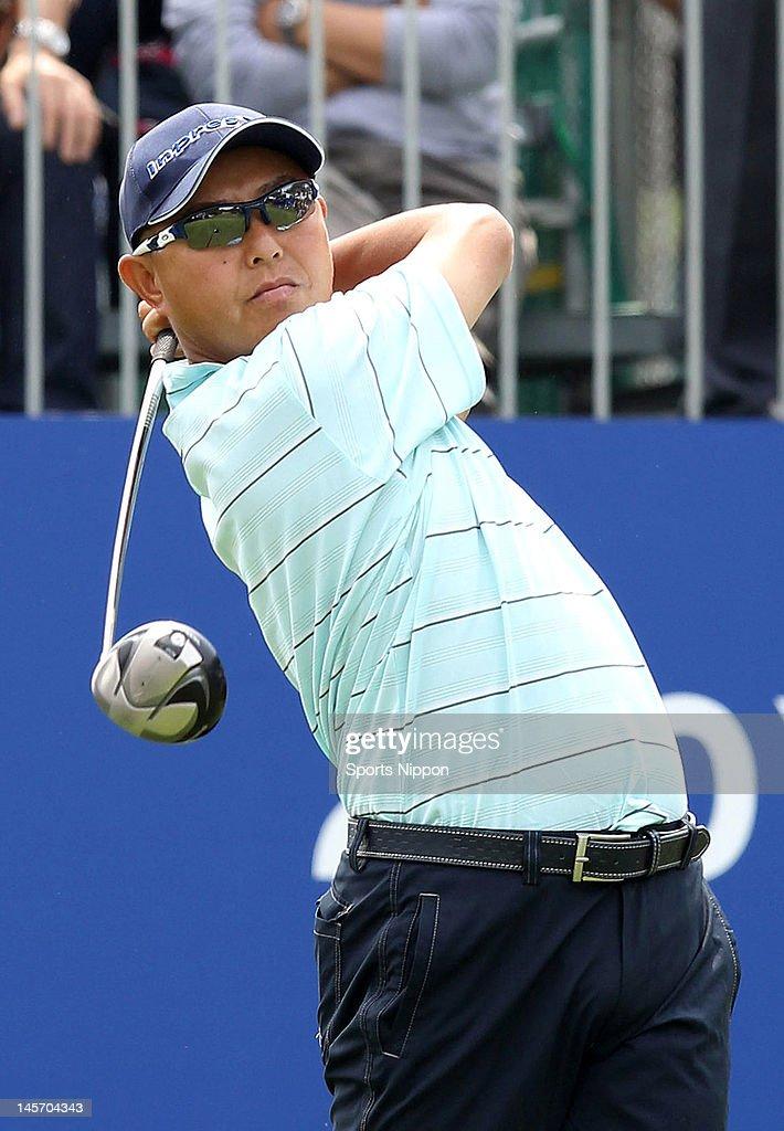 Japan Golf Tour Championship Citibank Cup Shishido Hills 2012 - Round One