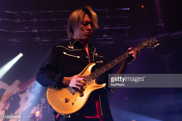 Toru Yamashita Toru of the Japanese rock band ONE OK ROCK in Concert at the Roundhouse London on 10 May 2019 England