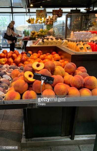 torvehallerne the food market at copenhagen, denmark - vsojoy stock pictures, royalty-free photos & images