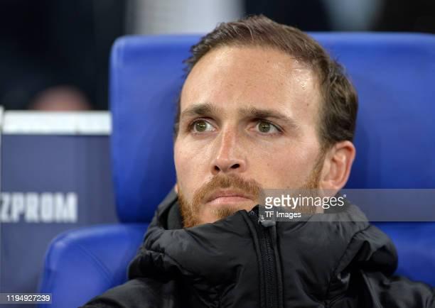 Torwart Tobias Sippel of Borussia Moenchengladbach looks on prior to the Bundesliga match between FC Schalke 04 and Borussia Moenchengladbach at...