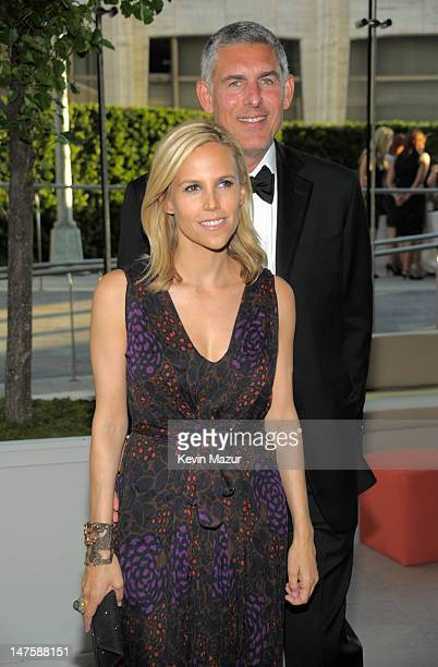Tory Burch and Lyor Cohen attends the 2010 CFDA Fashion Awards at Alice Tully Hall, Lincoln Center on June 7, 2010 in New York City.