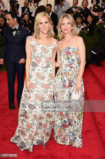 Tory Burch and Melanie Laurent attend the 'China Through The Looking Glass' Costume Institute Benefit Gala at the Metropolitan Museum of Art on May 4...