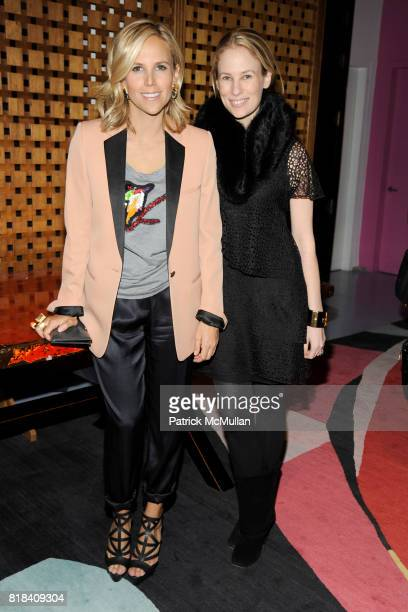 Tory Burch and Rebekah McCabe attend DVF CFDA Celebrate Lincoln Center Stephanie Winston Wolkoff at DVF Studio on January 19 2010 in New York City