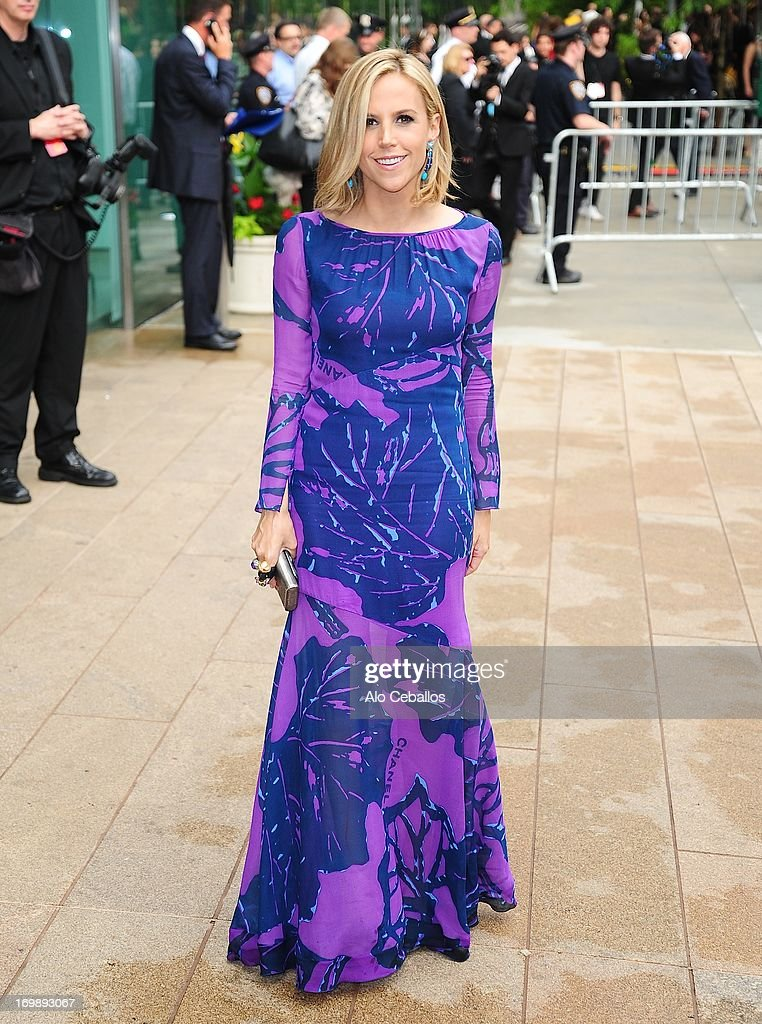 Tory Burch arrives at the 2013 CFDA Fashion Awards at Alice Tully Hall on June 3, 2013 in New York, New York.