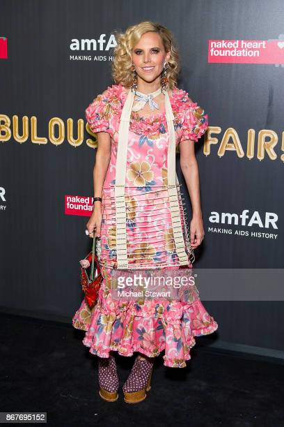 Tory Burch attends 2017 amfAR and The Naked Heart Foundation Fabulous Fund Fair at Skylight Clarkson Sq on October 28 2017 in New York City