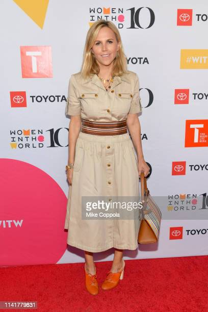 Tory Burch attends the 10th Anniversary Women In The World Summit at David H Koch Theater at Lincoln Center on April 10 2019 in New York City