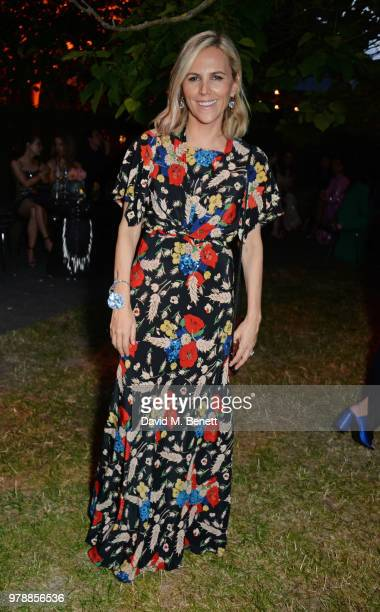 Tory Burch attends the annual summer party in partnership with Chanel at The Serpentine Pavilion on June 19 2018 in London England