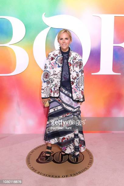 Tory Burch attends the #BoF500 gala dinner during New York Fashion Week Spring/Summer 2019 at 1 Hotel Brooklyn Bridge on September 9, 2018 in...