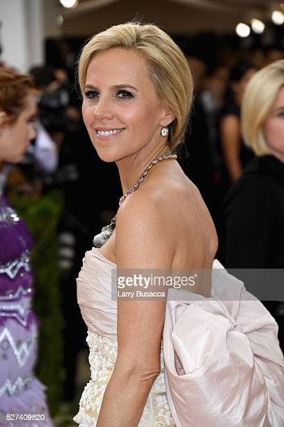 """Tory Burch attends the """"Manus x Machina: Fashion In An Age Of Technology"""" Costume Institute Gala at Metropolitan Museum of Art on May 2, 2016 in New..."""