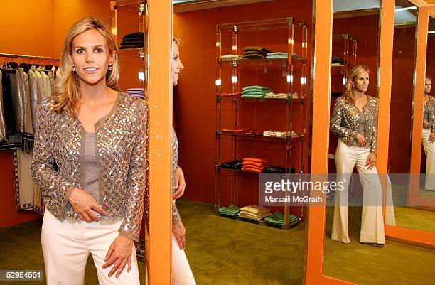 Tory Burch attends the opening of Tory Burch's West Coast store, Tory by TRB, on May 19, 2005 on Robertson Blvd, Los Angeles, California.