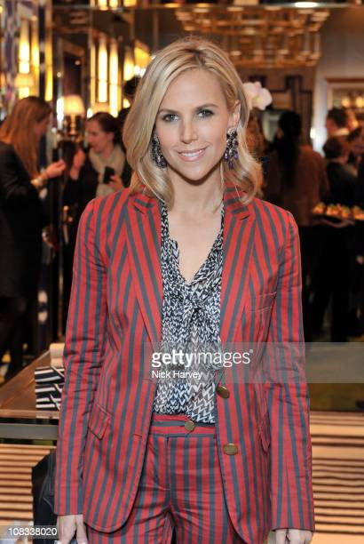 Tory Burch attends the store opening of 'Tory Burch' on January 25 2011 in London United Kingdom