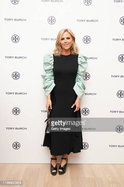 Tory Burch attends the Tory Burch Ginza Boutique Opening on April 02 2019 in Tokyo Japan
