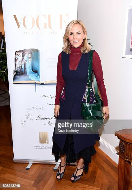 Tory Burch celebrates wwwVogueCenturycom with Genesis Publications Alexandra Shulman of British Vogue and The GREAT Britain Campaign at the British...