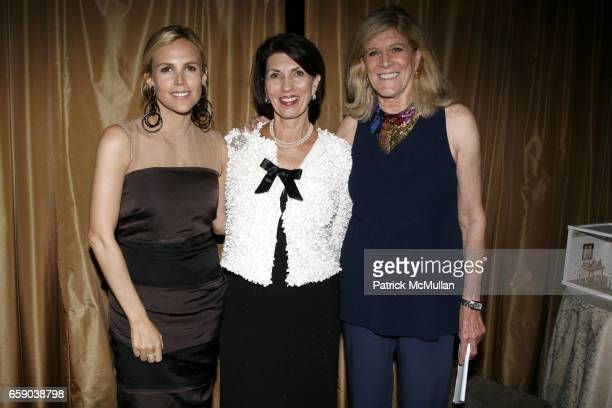 Tory Burch Pamela Fiori and Lynn Sherr attend 2009 commit to WIN annual benefit dinner honoring PAMELA FIORI at The Pierre on April 28 2009 in New...