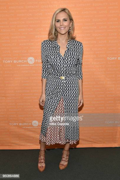 Tory Burch poses during The Tory Burch Foundation 2018 Embrace Ambition Summit at Alice Tully Hall on April 24, 2018 in New York City.