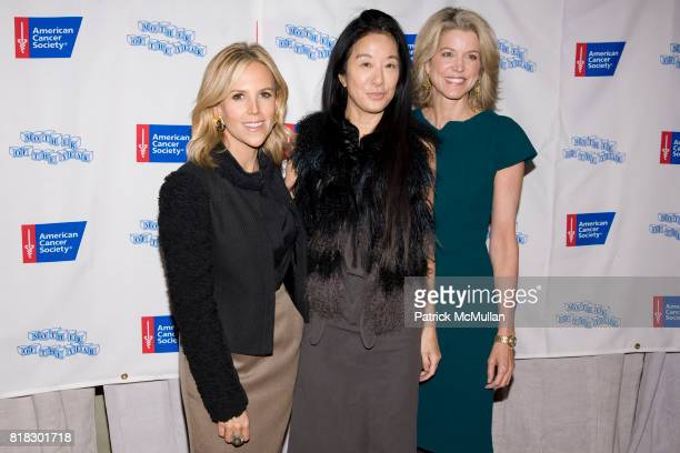 Tory Burch Vera Wang and Paula Zahn attend AMERICAN CANCER SOCIETY honors TORY BURCH and DR DEBORAH AXELROD as Mothers of the Year at The Pierre on...