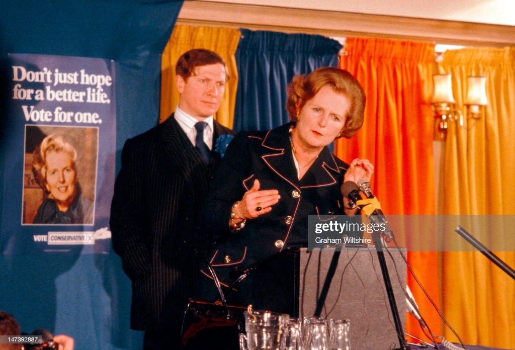 Thatcher Election Campaign : Fotografía de noticias
