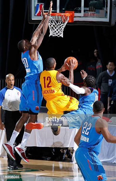 Tory Jackson of the Fort Wayne Mad Ants shoots the ball against the Tulsa 66ers during the 2012 NBA DLeague Showcase on January 12 2012 at the Reno...