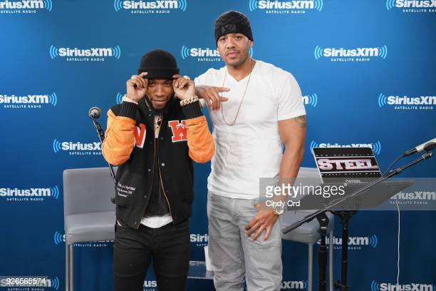 Tory Lanez album listening event hosted by DJ Steel on SiriusXM's The Heat Channel at SiriusXM Studios on March 2, 2018 in New York City.