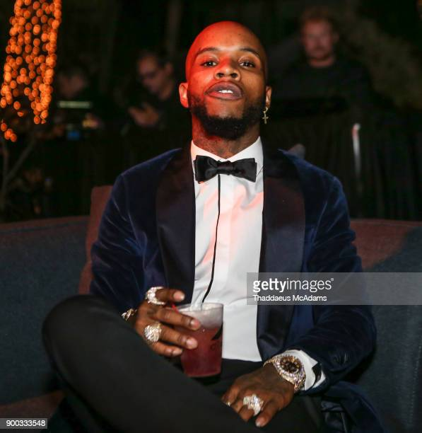 Tory Lanez attends Sean 'Diddy' Combs Hosts CIROC The New Year 2018 Powered By Deleon Tequila at Star Island on December 31 2017 in Miami Florida
