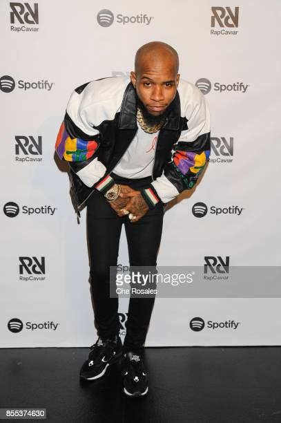 Tory Lanez attends Spotify's RapCaviar Live in Toronto at Rebel Nightclub on September 28 2017 in Toronto Canada