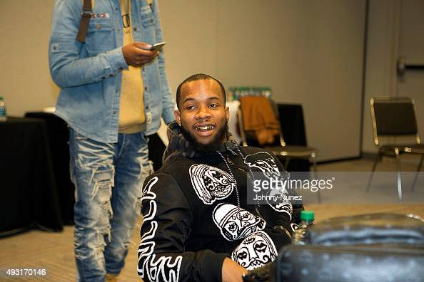 Tory Lanez Attends The 2015 Circle Of Sisters Expo At Jacob Javitz News Photo Getty Images