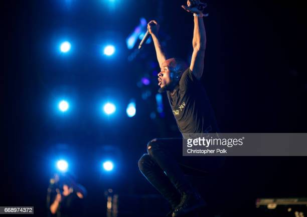 Tory Lanez during day 2 of the Coachella Valley Music And Arts Festival at the Empire Polo Club on April 15 2017 in Indio California
