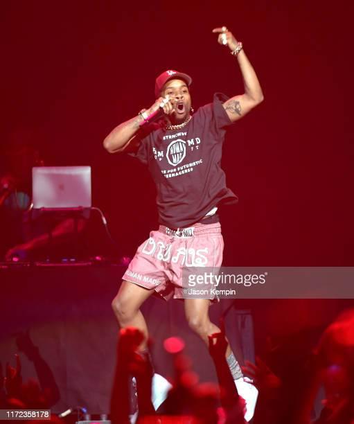 Tory Lanez performs at Bridgestone Arena on September 04 2019 in Nashville Tennessee