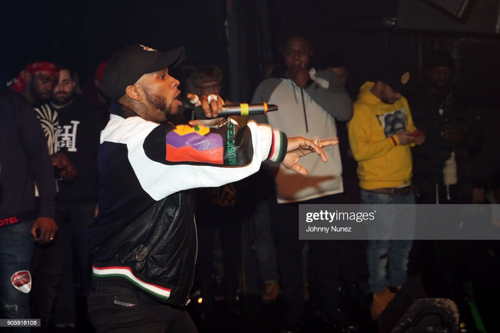 Tory Lanez performs at Irving Plaza on January 16, 2018 in New York City.